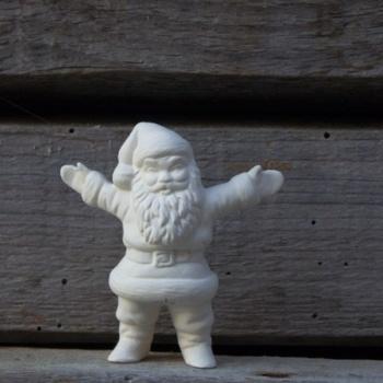 kerstman heel klein