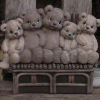 beren op een rij