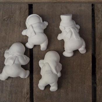 kerstbal houder sneeuwmannetjes (4)