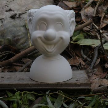 hoofd clown op basis