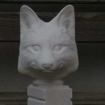hoofd vos op basis