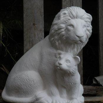 leeuw met jong