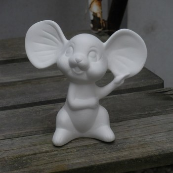 muis grote oren klein zit