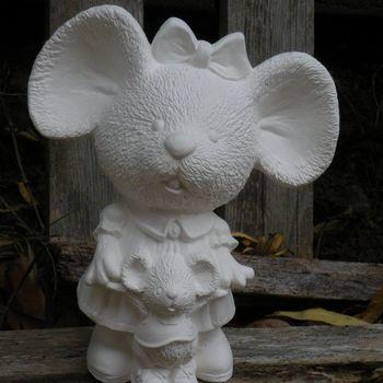 muis grote oren moeder