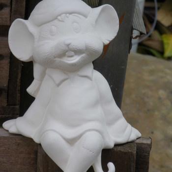 muis jongen benen afhangend