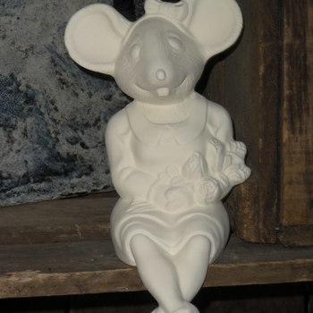 muis meisje afhangend