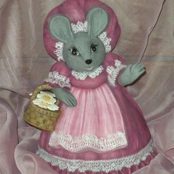 muis moeder mandje