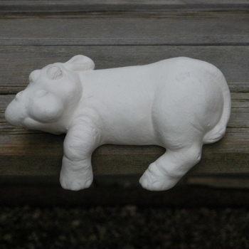 nijlpaard afhangend klein