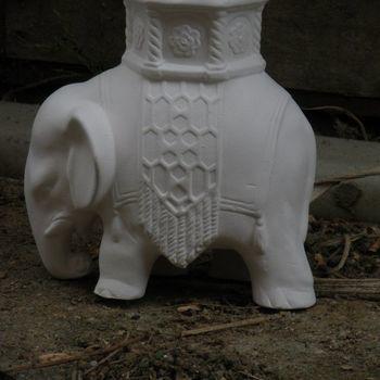 olifant versierd