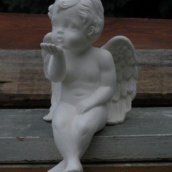 engel afhangend blazend