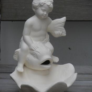 engel op dolfijn