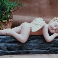 engel slapend