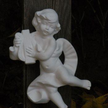 engel viool hangend