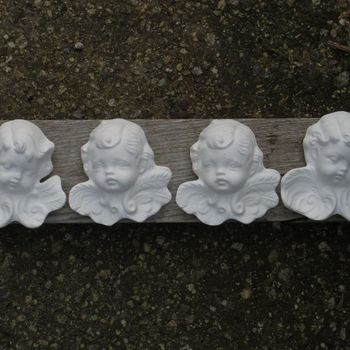 engeltjes hoofd hangend (4#)