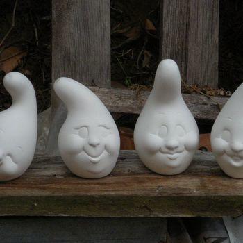 courgettes met gezicht (4 #)