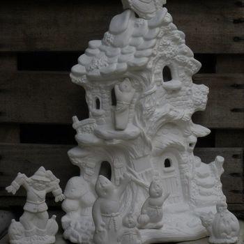 huis boomstam spokenfamilie
