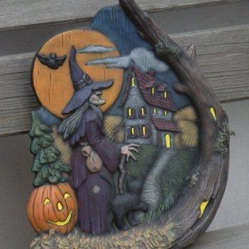 tafereel heks huis