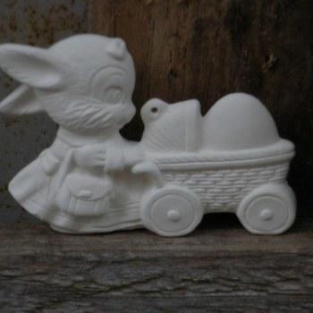hanger konijntje kinderwagen