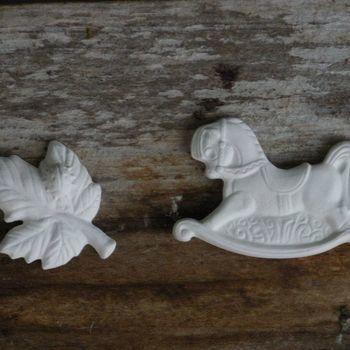 hanger schommelpaard/blad