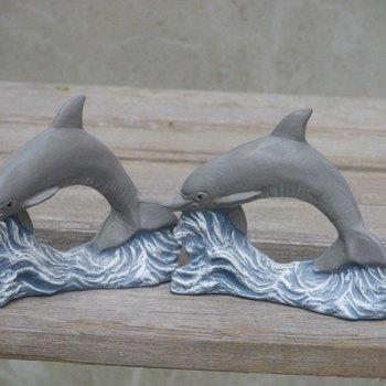 servietring dolfijn