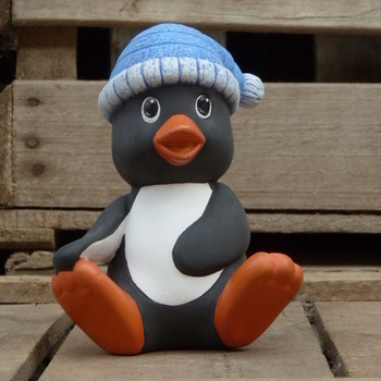 pinguin muts zit