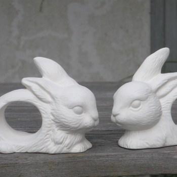 servietring konijn