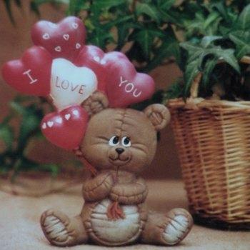beertje met ballonnen