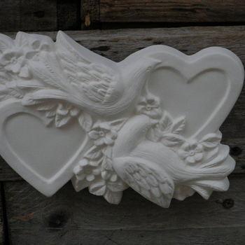duiven met hart