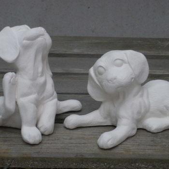 puppies klein zit/lig