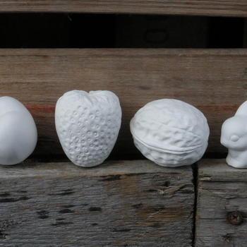 fruit (noot/aardbei/konijntje/pruim)