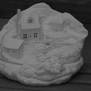 tafereel klein huis