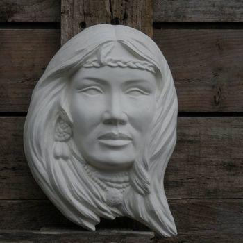 indiaan wand vrouw