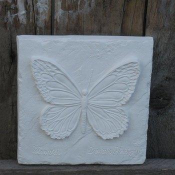 tegel vlinder