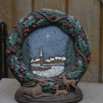 kerstkrans klein landschap