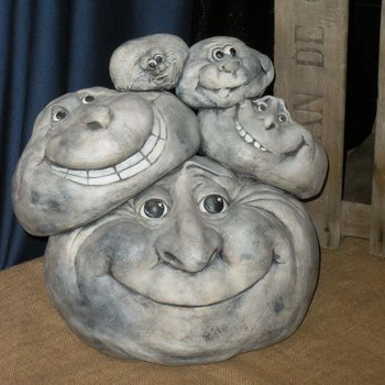 stenen 5 op elkaar