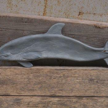 wierookhouder dolfijn