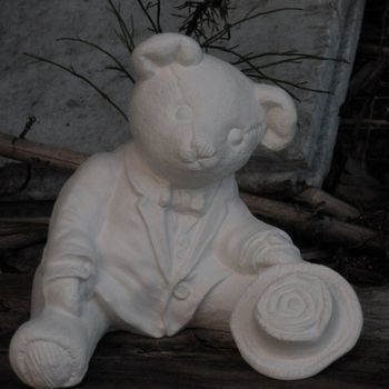 beer met vest klein