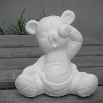beer pamper klein geeuwend
